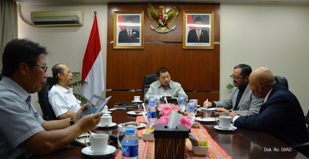 Pertemuan tentang Agri-Infra Modernization Tasik Project