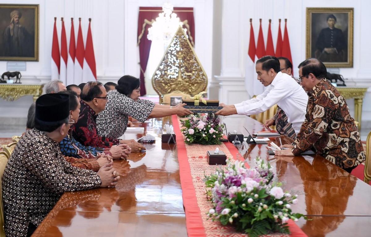 Foto pamitan ke Presiden - 2019