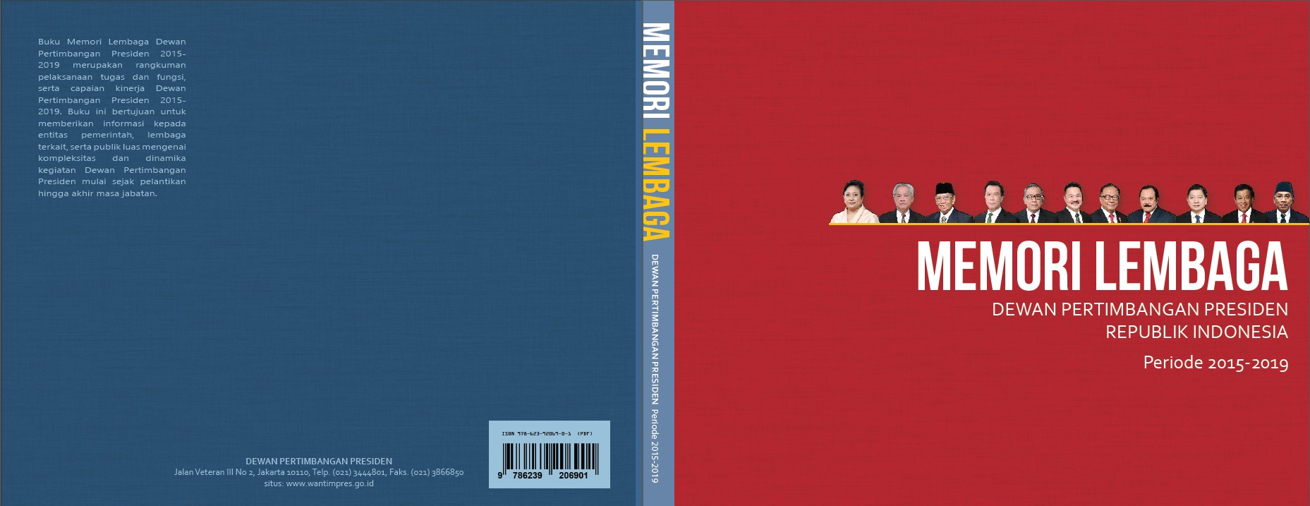 Buku Memori Lembaga